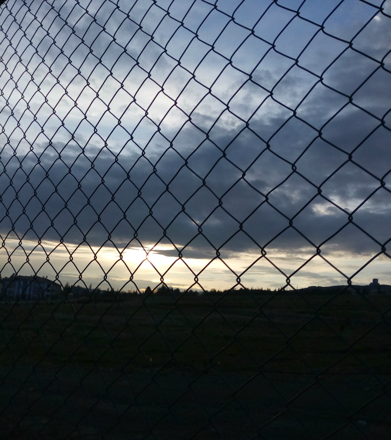 (@KendiKadrajımdan) Elazığ 8.kolordu komutanlığı ( Yağmurlu Bir Gün Batımı )