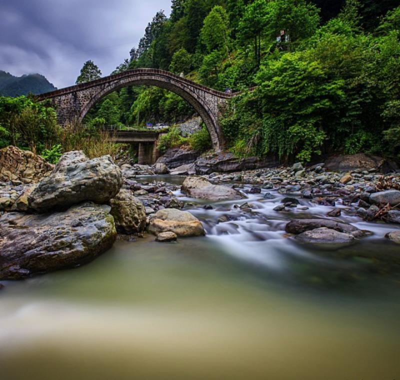 @Maside Dilekçi, Çifte Köprü, Arhavi
