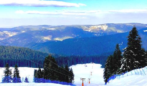 Ilgaz Dağı Milli Parkı Kayak Pisti