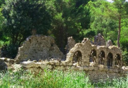 Phaselis Antik Kenti Kalıntıları