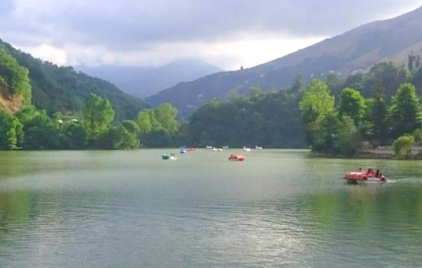 Sera Gölü Tabiat Parkı Deniz Bisikletleri