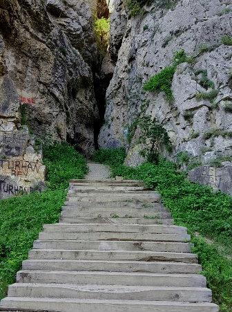 Cehennem Deresi Kanyonu Giriş Merdivenleri