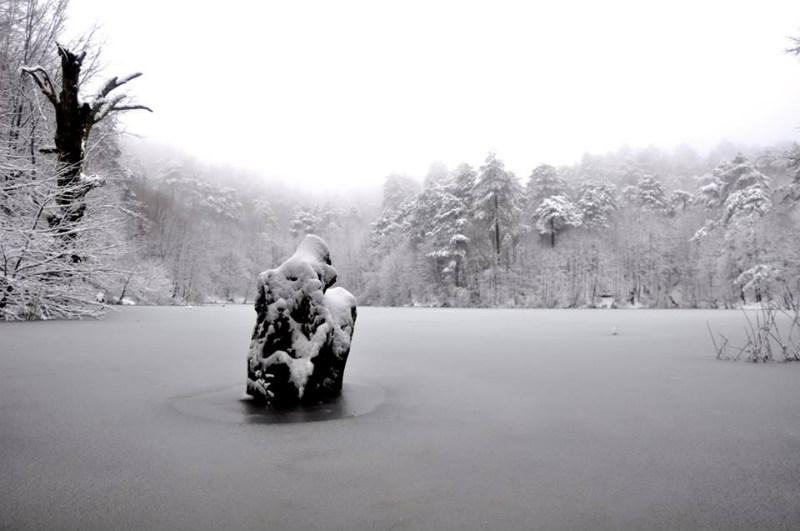 Dipsiz Göl Kış Manzaraları