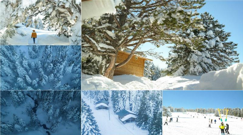 uludağdan kış manzaraları