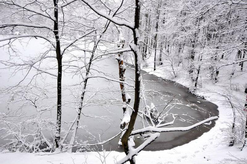 Büyük Dipsiz Göl'den Kış Manzaraları