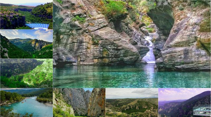 Türkiyede bulunan kanyonların listesi