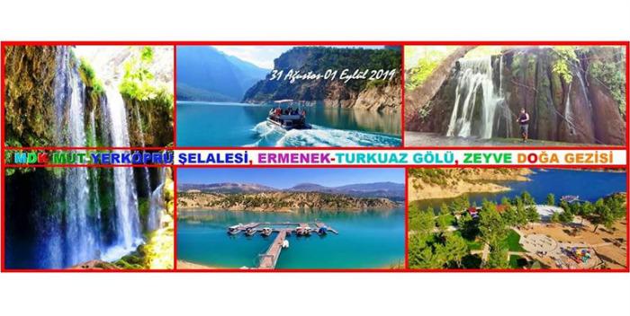 turkuaz gölü, yerköprü şelalesi